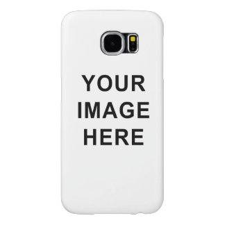Your Image or Text Here Custom Template Samsung Galaxy S6 Cases