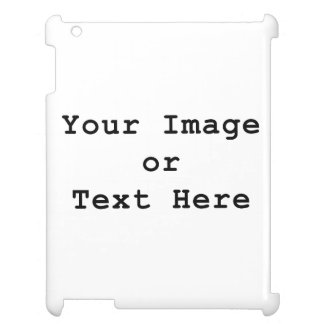 Your Image or Text Here Customize Template Cover For The iPad