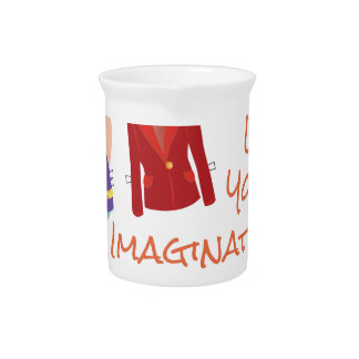 Your Imagination Drink Pitcher