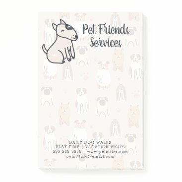 Your Information | Puppies & Paws Post-it Notes