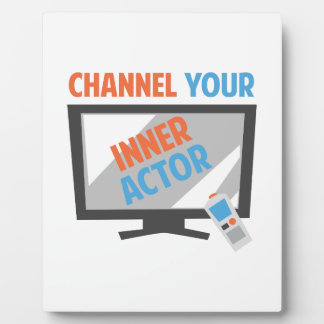 Your Inner Actor Display Plaque