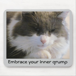 Your inner grump mouse pad