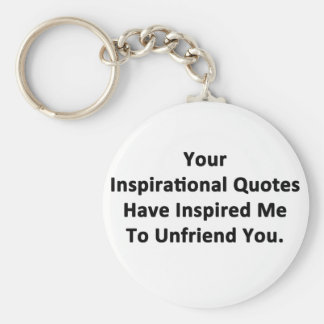 Your Inspirational Quotes Basic Round Button Keychain