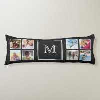YOUR Instagram Photos & Monogram body pillow