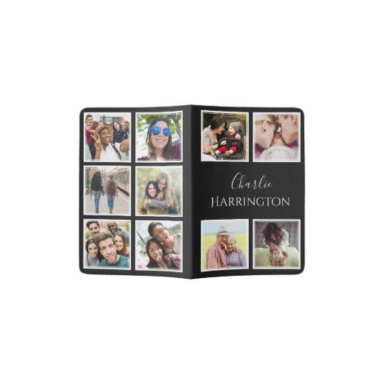 YOUR Instagram Photos & Name custom passport cover | Zazzle.com