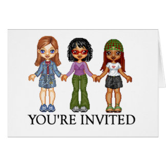 Your Invited Diva Card