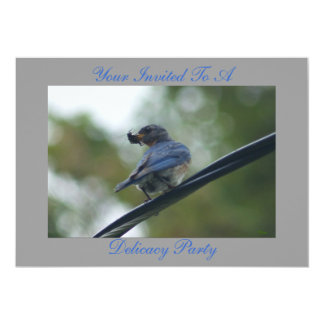 "Your Invited /To A Delicacy Party 5"" X 7"" Invitation Card"