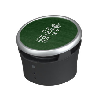 Your Keep Calm And Text Easily Union Jack Bluetooth Speaker