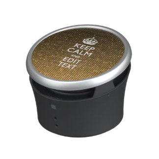 Your Keep Calm And Text Easily Union Jack Speaker