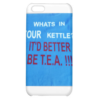 YOUR_KETTLE-design Case For iPhone 5C