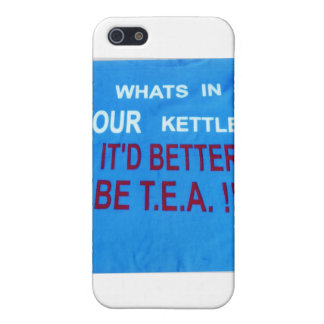 YOUR_KETTLE-design iPhone 5 Covers
