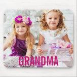"Your Kids Photo Grandma Mousepad<br><div class=""desc"">Your Kids Photo Grandma Mousepad</div>"
