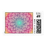 Your Kindness Blooms Like Rainbow Plumes Stamp