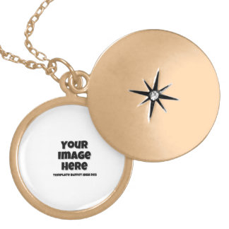 Your KoolrPix Image Looks Great on a Gold Plated Necklace
