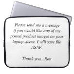 Your Laptop Sleeve Request
