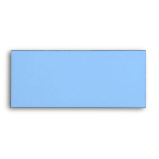 Your Letter. Custom Monogram. Blue Black White. Envelope