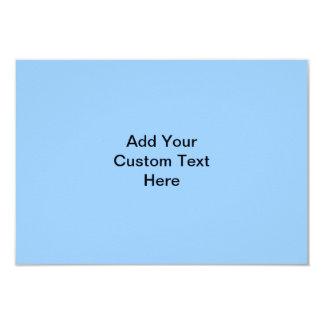 Your Letter. Custom Monogram. Blue Black White. 3.5x5 Paper Invitation Card