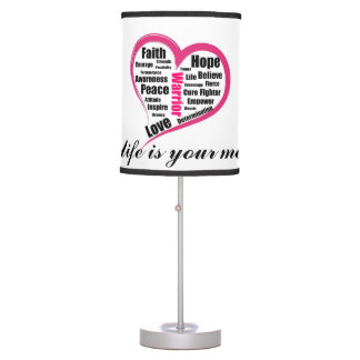 Your life is your message lamp