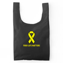 Your Life Matters Suicide Prevention Reusable Bag