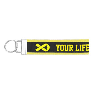 Your Life Matters Suicide Prevention Wrist Keychain