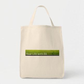 Your Life with RA Tote bag