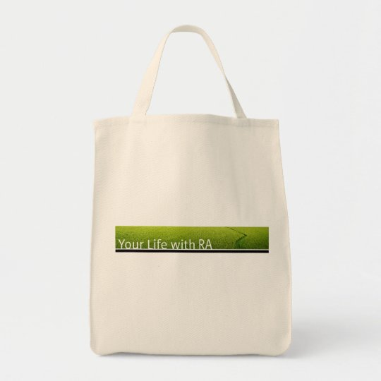 Your Life with RA Tote bag