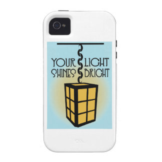 Your Light Shines Bright Case For The iPhone 4
