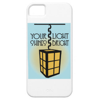 Your Light Shines Bright iPhone 5 Cover