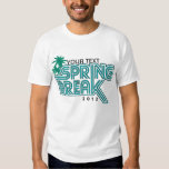 Your Location Spring Break 2012 Custom T-Shirt