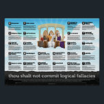"Your Logical Fallacy Is... Poster<br><div class=""desc"">yourlogicalfallacyis.com</div>"
