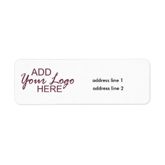 Your logo/address here labels