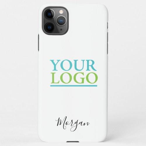 Your Logo/Art/Photo, Name, White iPhone 11Pro Max Case
