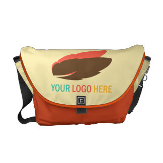 Your logo here business promotional marketing courier bags
