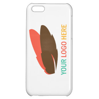 Your logo here business promotional marketing iPhone 5C covers
