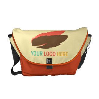 Your logo here business promotional marketing messenger bag