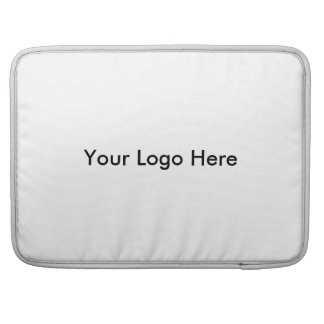 Your Logo Here Sleeves For MacBooks