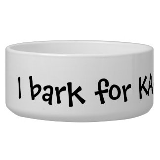 Your logo here pet business promotional marketing bowl