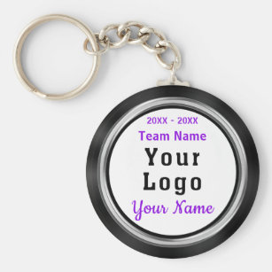 Your LOGO or Photo Cheap Personalized Team Gifts Keychain 05026ba01
