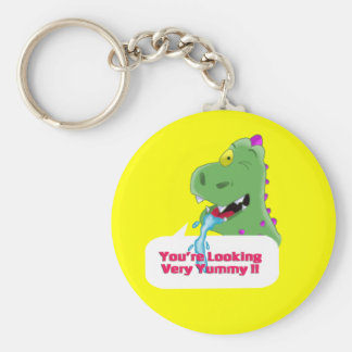 your looking yummy keychain