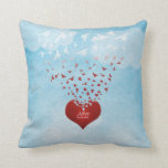 Your Love Gives Me Wing Wedding Anniversary Pillow