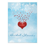 Your Love Gives Me Wings Bridal Shower Personalized Invite