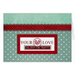 Your Love Invitation Note Card
