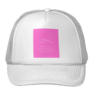 your love is real valentine's day trucker hat