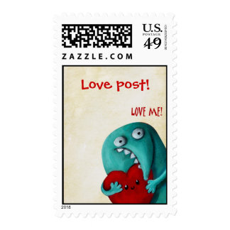 Your love message -custom text- postage