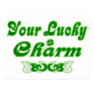 Your Lucky Charm Your Lucky Charm Postcard