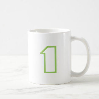 Your Lucky Number & Color. Coffee Mug