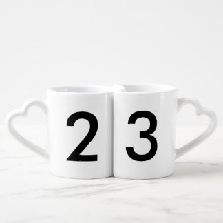 Your Lucky Number & Color. Coffee Mug Set