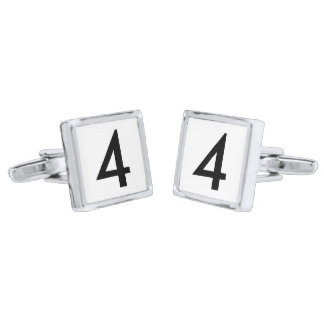 Your Lucky Number & Color. Cufflinks