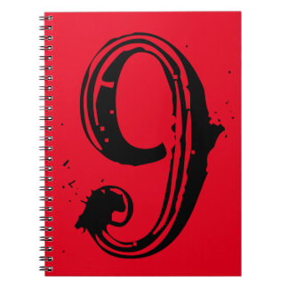 Your Lucky Number & Color. Spiral Notebook