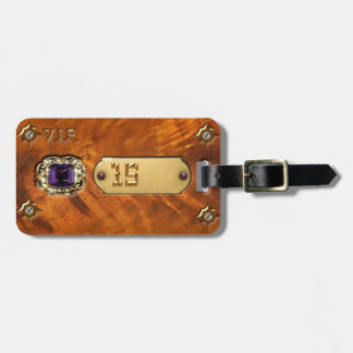 Your Luggage Tag Steampunk & Number 15 Western